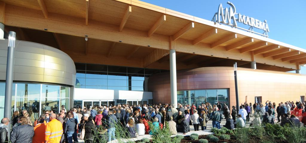 IGD grows again: the new Marema' shopping center inaugurated today in  Grosseto
