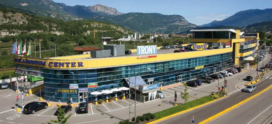 IGD acquires the mall in the Millennium Shopping Center in Rovereto (Trento)