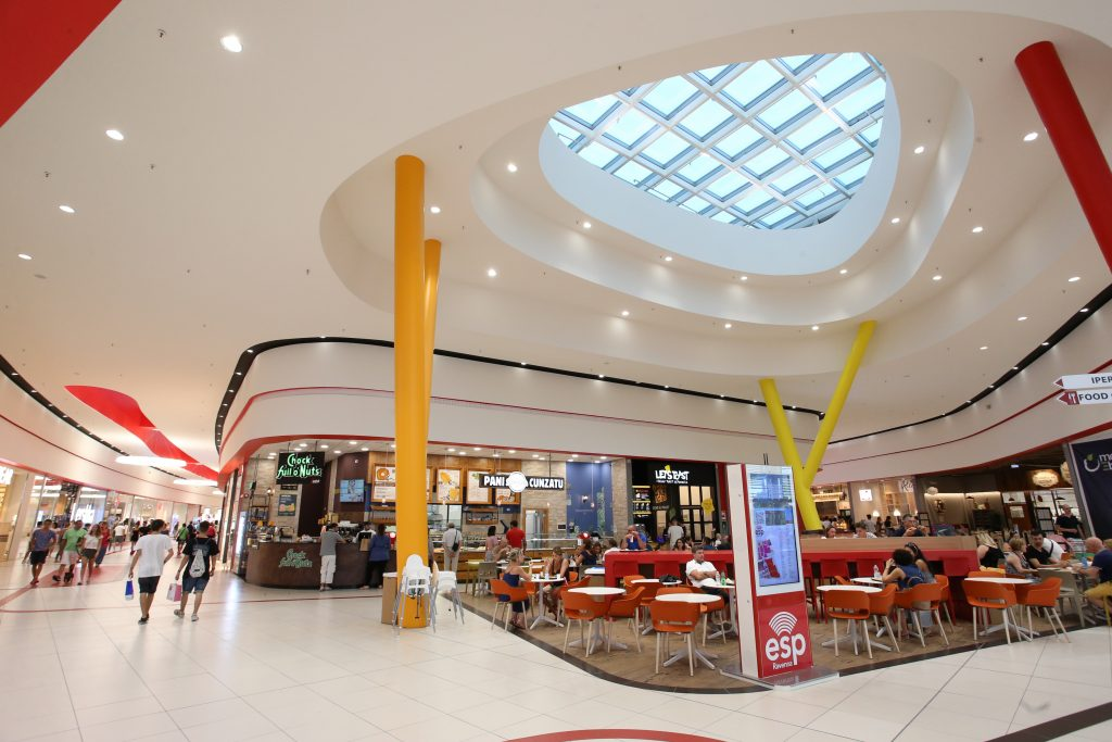 ESP shopping center in Ravenna double the size