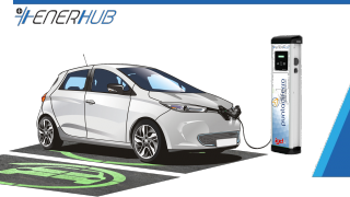 IGD SIIQ and Enerhub sign an agreement for the installation of 32 charging stations for electric cars in 18 shopping centers