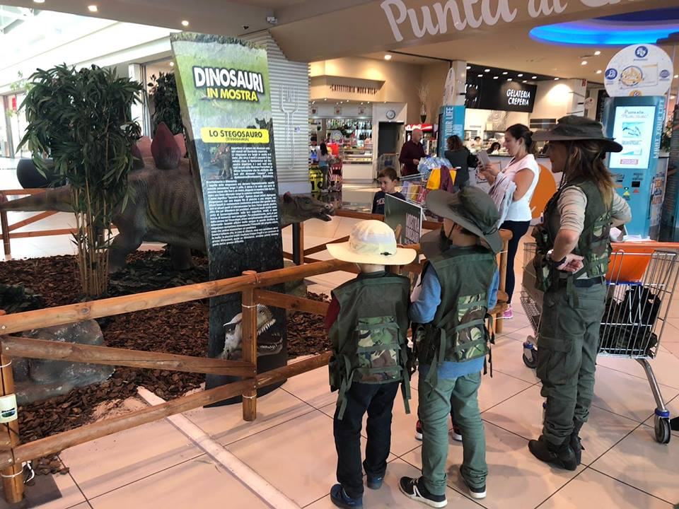 Dinosauri in mostra_Puntadiferro