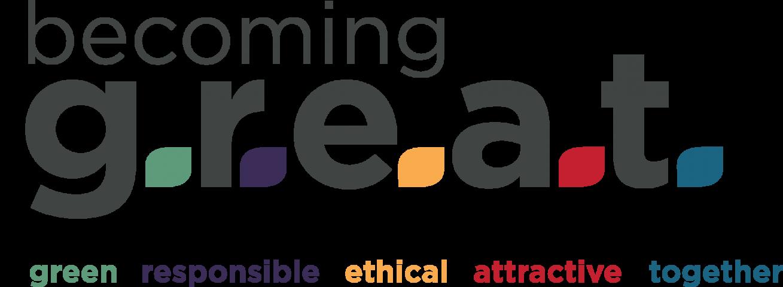 logo becoming great acronimo